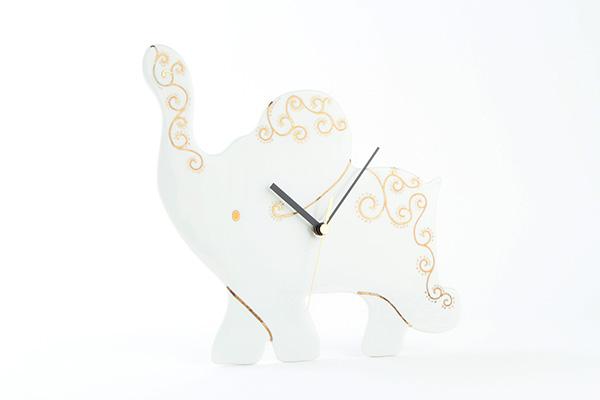 ゾウの時計ゴールド