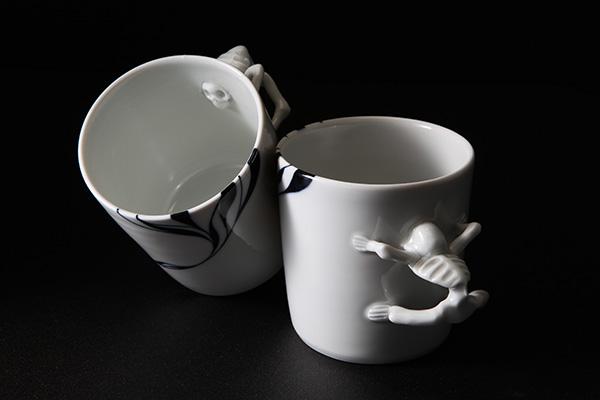 スカルマグカップ